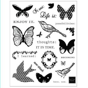GIU 09 - Clear stamps Chatterbox